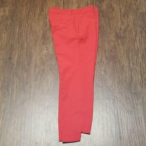 Zara cropped high low ankle pants